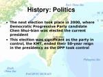 history politics12