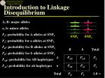 introduction to linkage disequilibrium