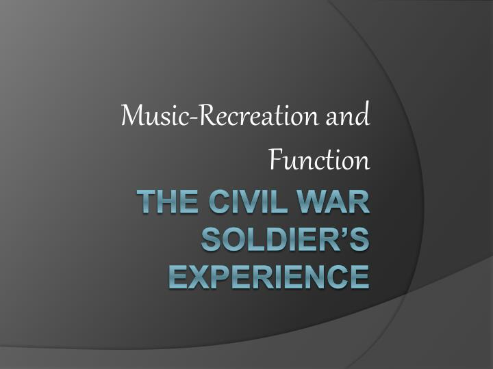 music recreation and function n.