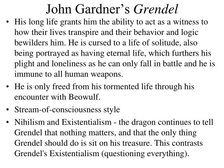grendel existentialism