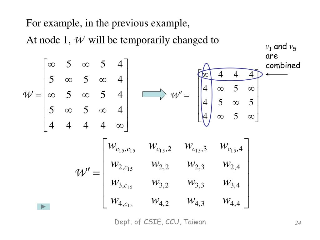 For example, in the previous example,
