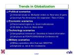 trends in globalization