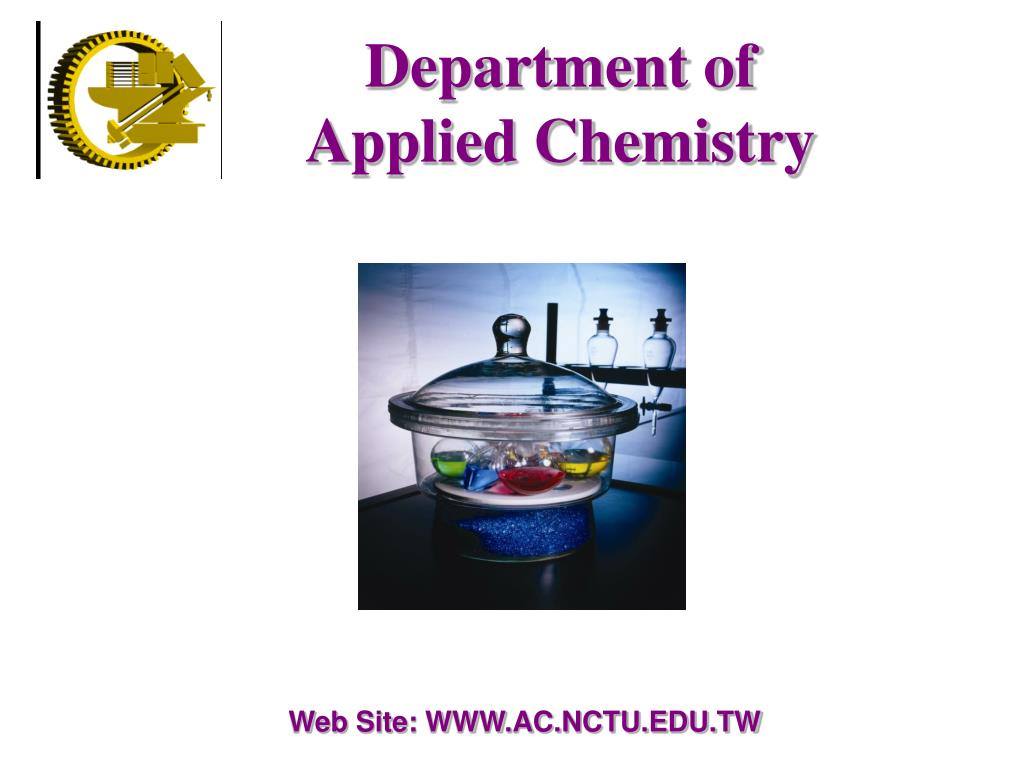 department of applied chemistry l.