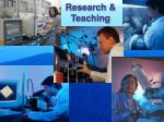 research teaching