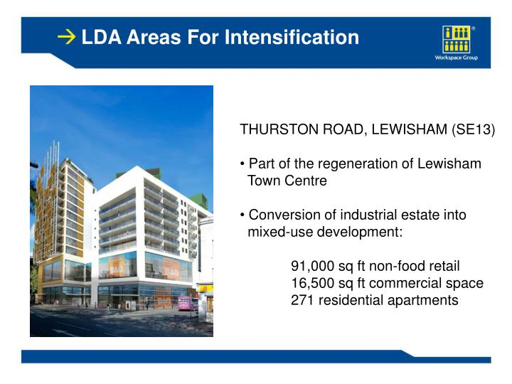LDA Areas For Intensification