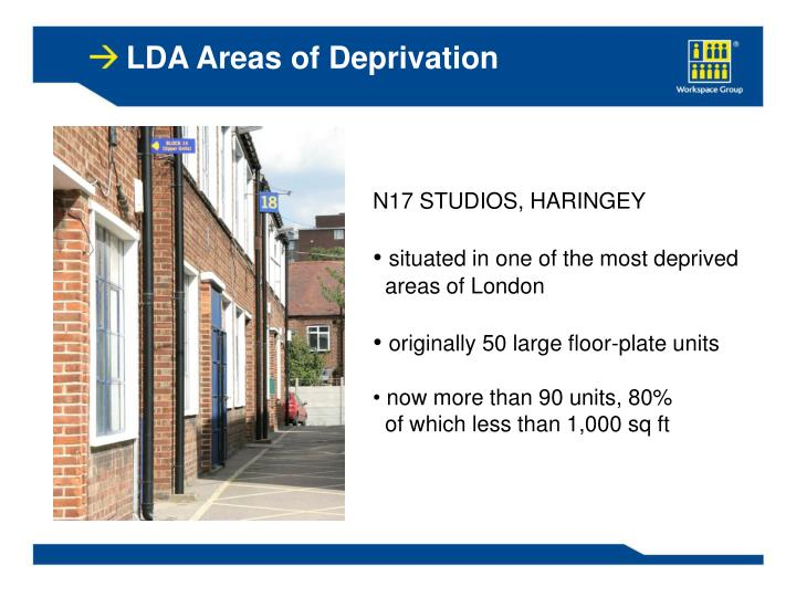 LDA Areas of Deprivation