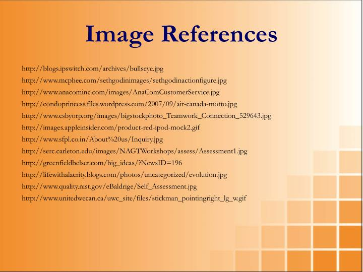 Image References