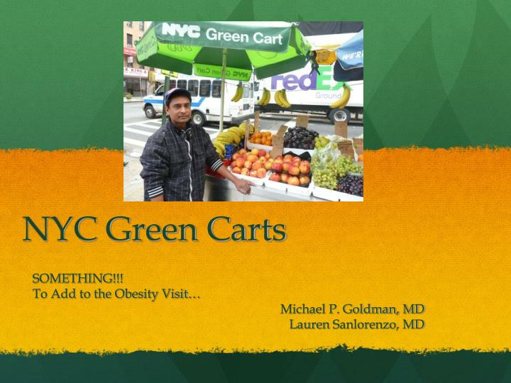 nyc green carts n.