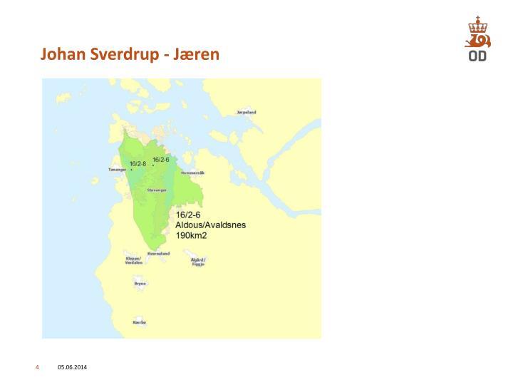 Johan Sverdrup - Jæren