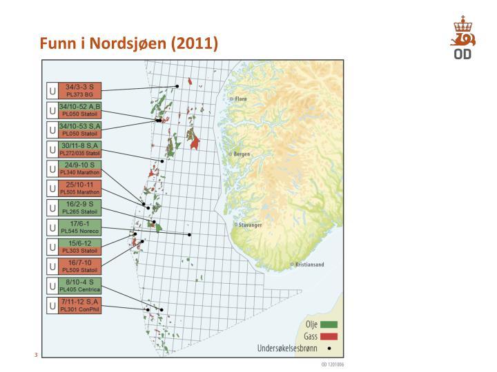 Funn i Nordsjøen (2011)