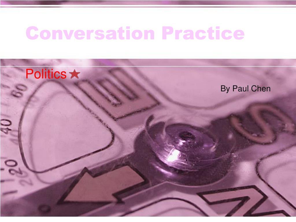 conversation practice l.