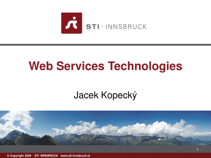web services technologies n.