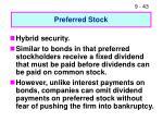 preferred stock