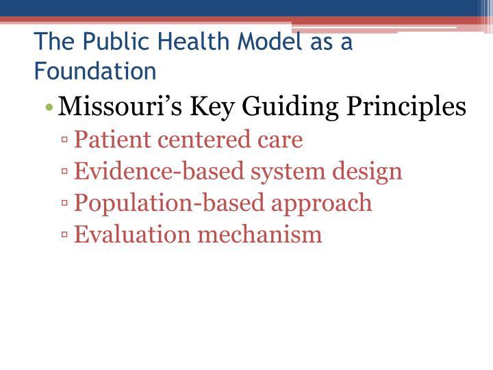 Missouri's Key Guiding Principles