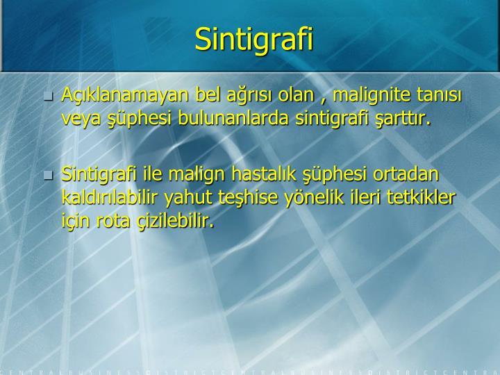Sintigrafi