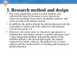 3 research method and design11