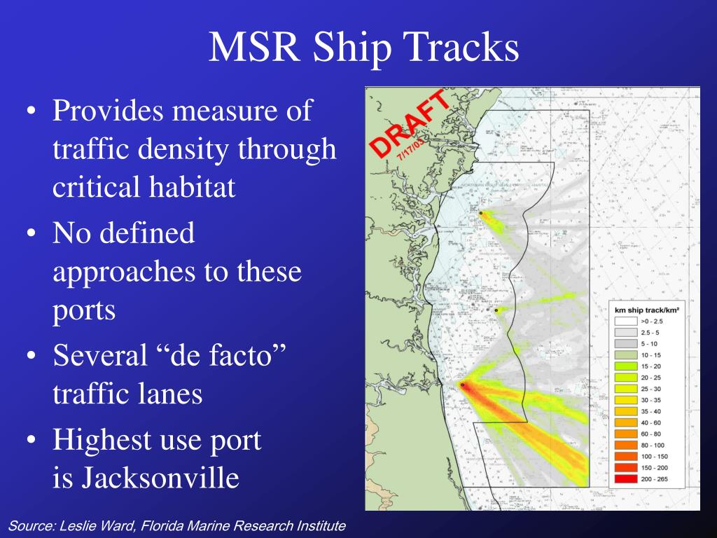 MSR Ship Tracks