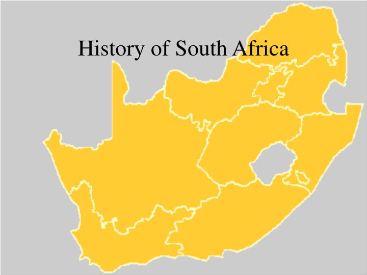 history of south africa n.
