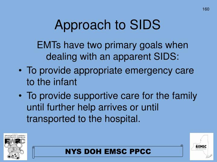 Approach to SIDS