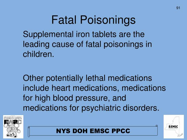 Fatal Poisonings