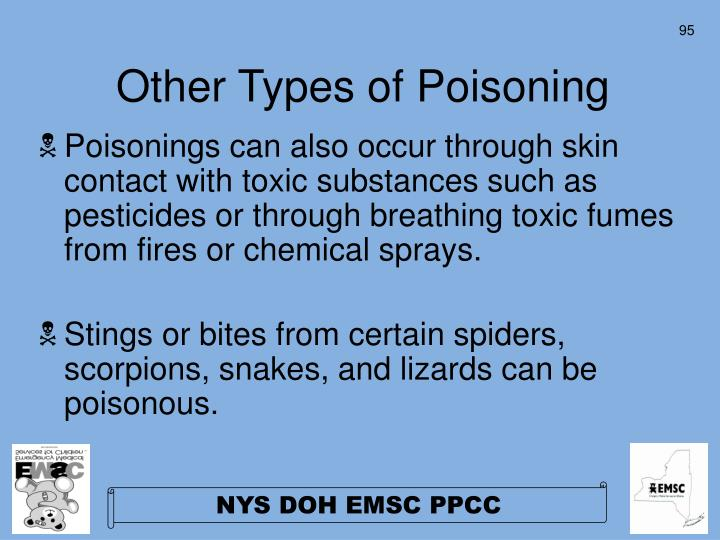Other Types of Poisoning