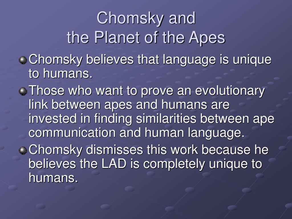 Chomsky and