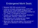 endangered monk seals27