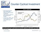 counter cyclical investment