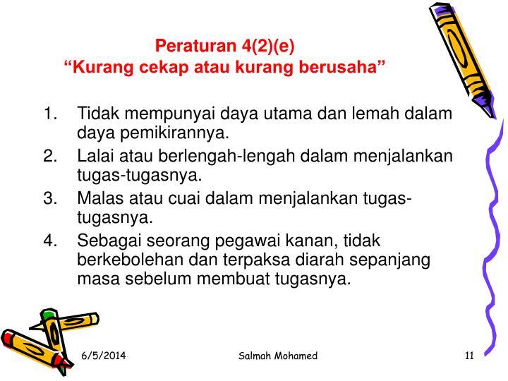 Peraturan 4(2)(e)