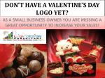 don t have a valentine s day logo yet