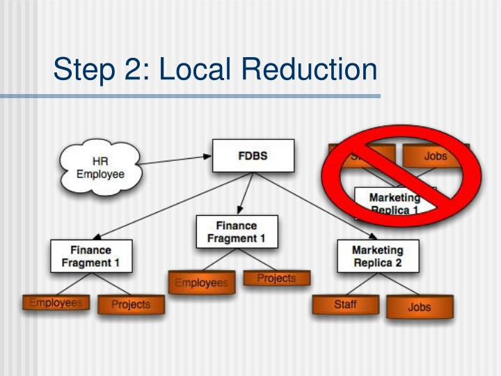 Step 2: Local Reduction