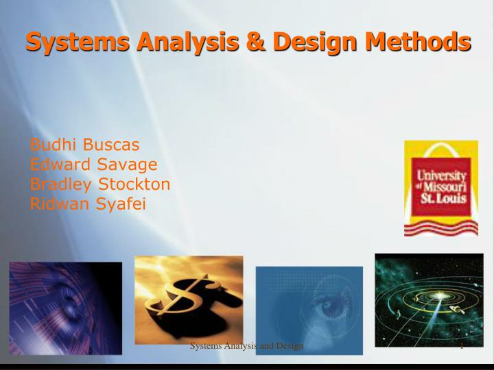 systems analysis design methods n.