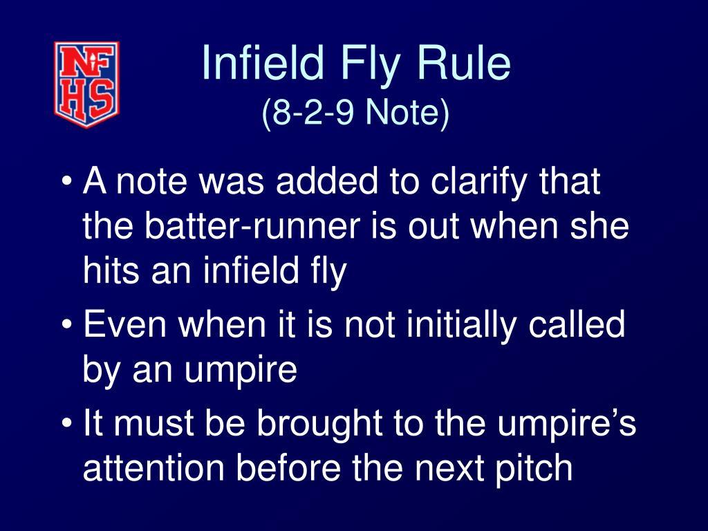 Infield Fly Rule
