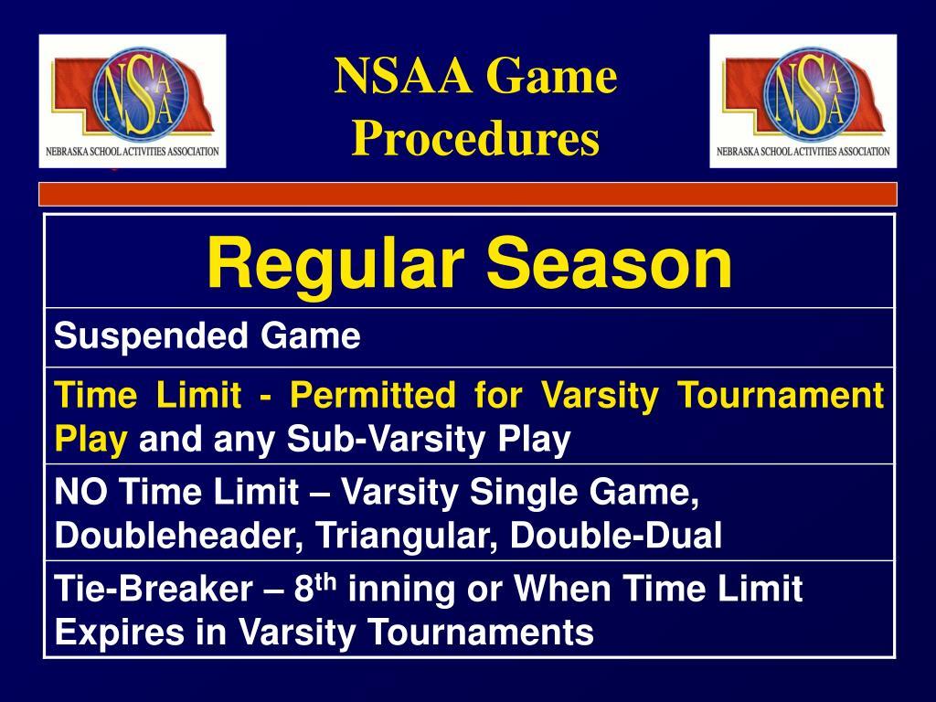 NSAA Game