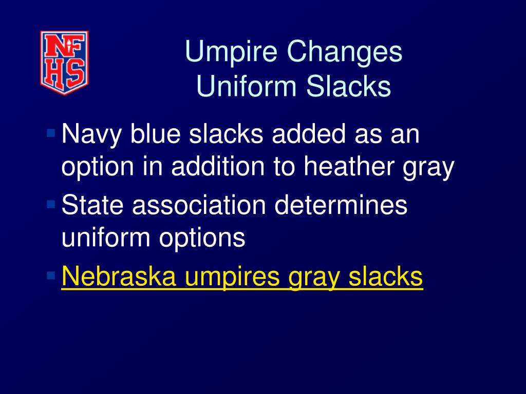 Umpire Changes