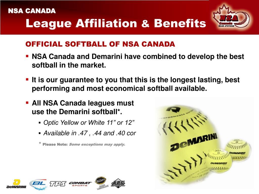 League Affiliation