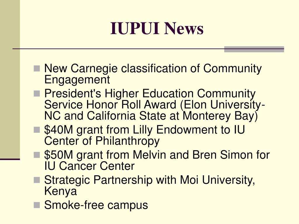 IUPUI News