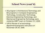 school news cont d11