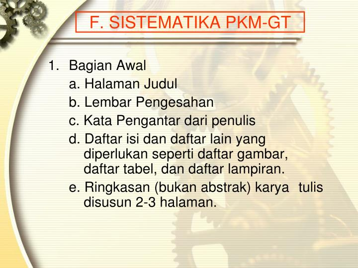 Ppt Program Kreativitas Mahasiswa Powerpoint Presentation Id 1056932