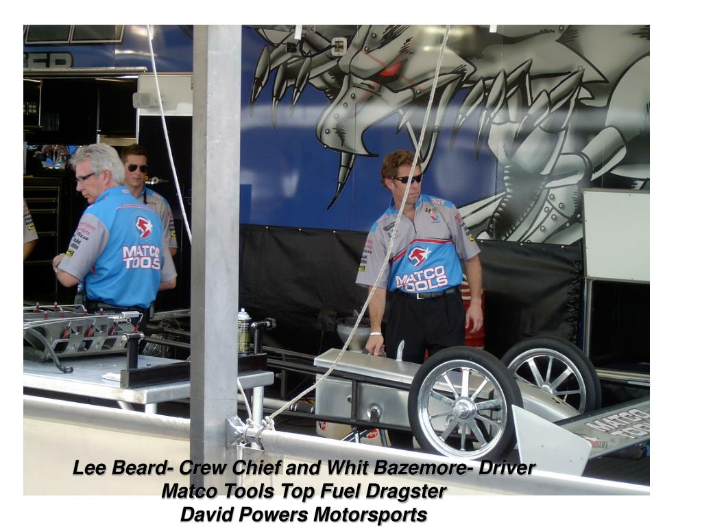 Lee Beard- Crew Chief and Whit Bazemore- Driver