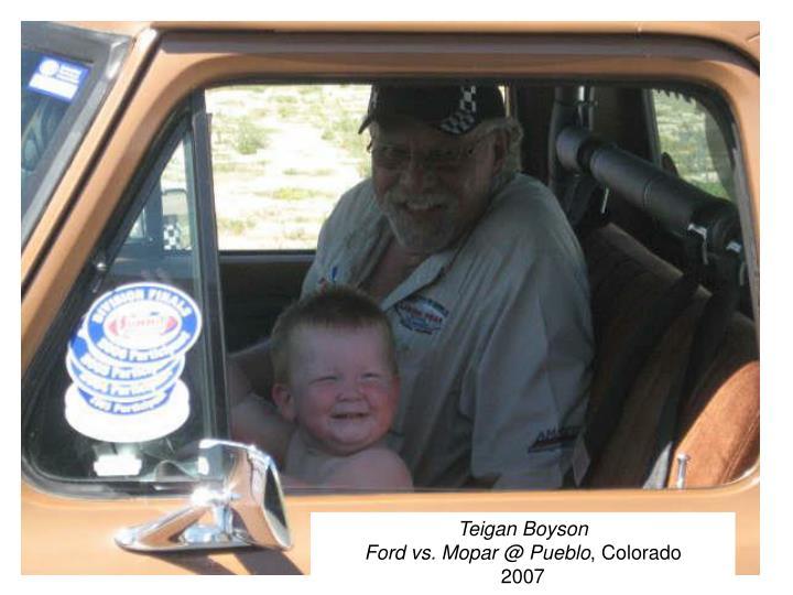 Teigan Boyson