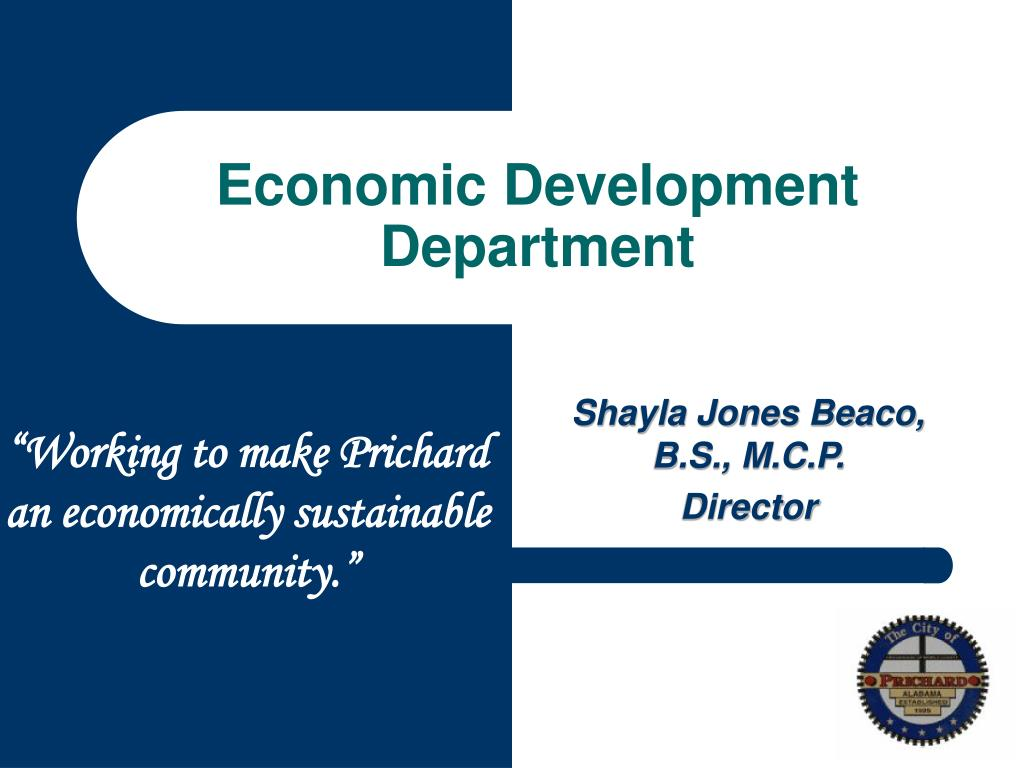 Economic Development Department