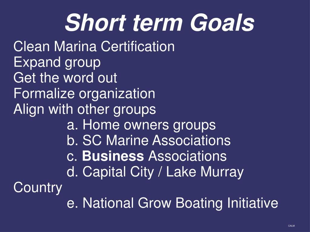 Clean Marina Certification