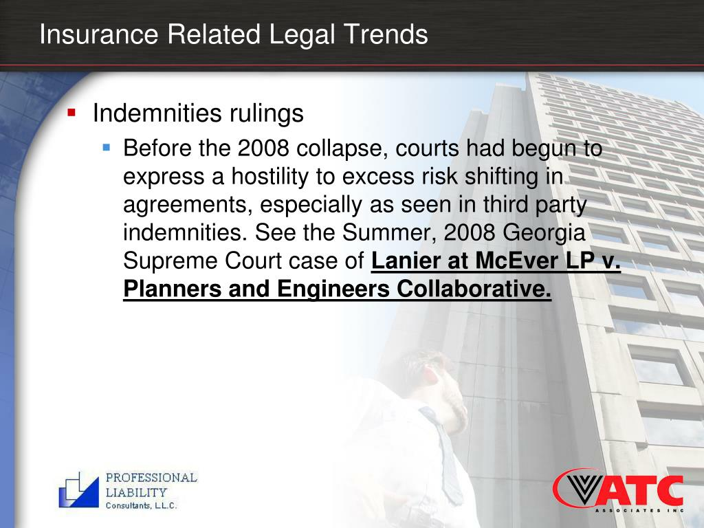 Insurance Related Legal Trends