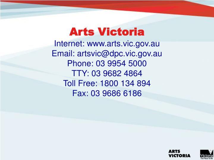 Arts Victoria