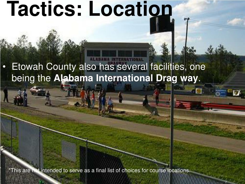 Etowah County also has several facilities, one being the