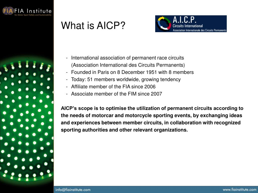 What is AICP?