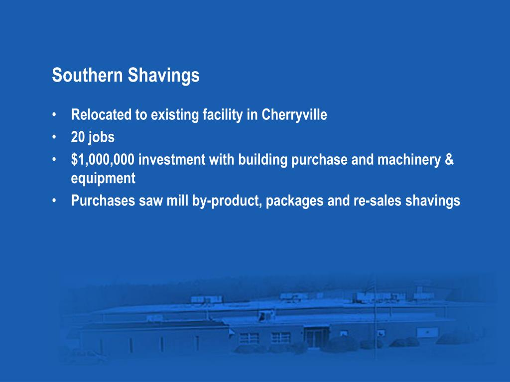 Southern Shavings