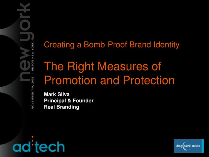 Creating a Bomb-Proof Brand Identity