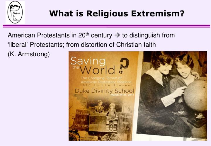 What is religious extremism